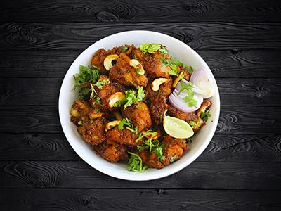 Andhra Chicken Fry